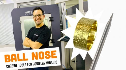 BALL NOSE TOOL for Jewellery Milling Machine
