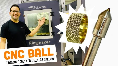 BALL TOOL for Jewellery Milling Machine