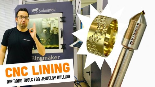 LINING TOOL for Jewellery Milling Machine