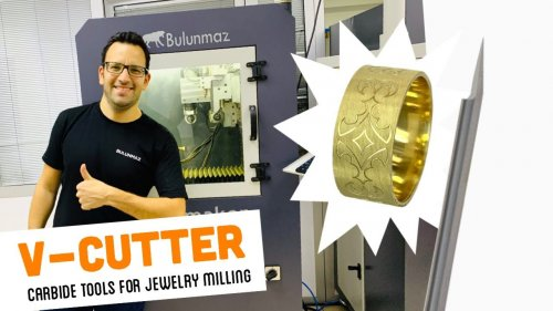 V-CUTTER TOOL for Jewellery Milling Machine