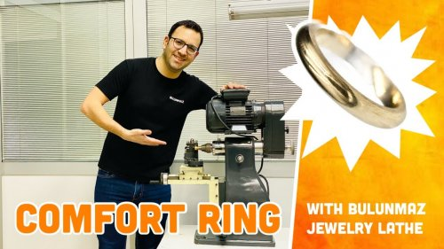 COMFORT RING PRODUCTION with Jewelry Lathe Machine