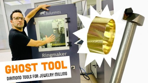 Ghost Tool for JEWELRY CNC MACHINE