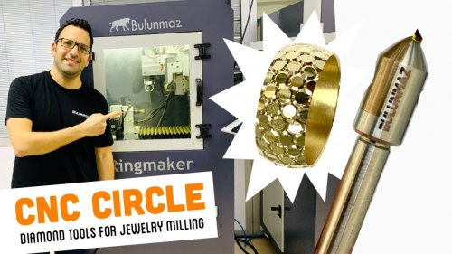 CIRCLE TOOL for Jewelry Milling Machine