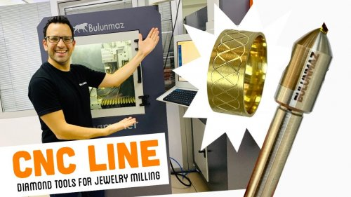 LINE TOOL for Jewelry Milling Machine