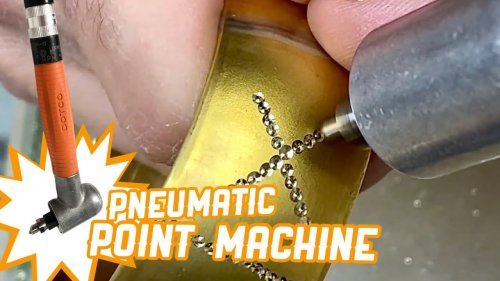 PNEUMATIC POINT MACHINE for Gold Production