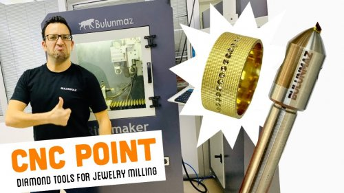 POINT TOOL for Jewellery Milling Machine